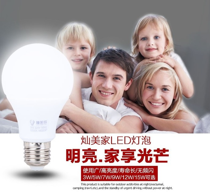 Светодиодные лампы LED-E14 (стандартный и 270 градусов) E27 (стандартный и 270 градусов) 5730 (101-203) - 1