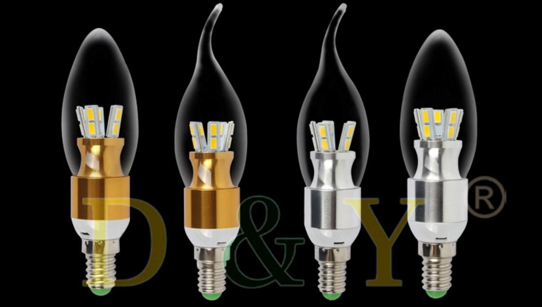 Лампа пожаробезопасная с металлическим корпусом LED-E14-5W-2835 (101-223) - 16