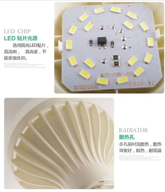 Светодиодные лампы LED-E14-E27 (стандартный и 270 градусов) (101-204) - 5