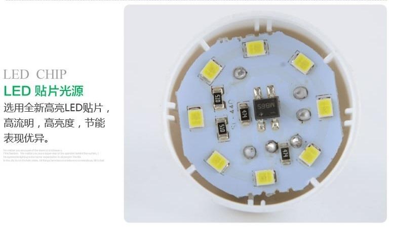 Светодиодные лампы LED-E14-E27-5730-2835 (101-201-4) - 1