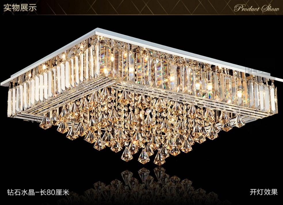 Люстра Plymouth Dili Lighting - Diamond Crystal LED-9083 (101-228) - 3