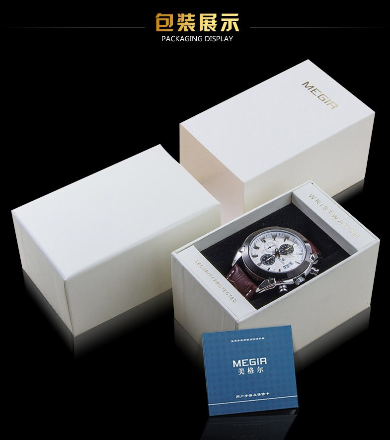 Водонепроницаемые спортивные кварцевые часы MEGIR 3002G (123-105) - 16