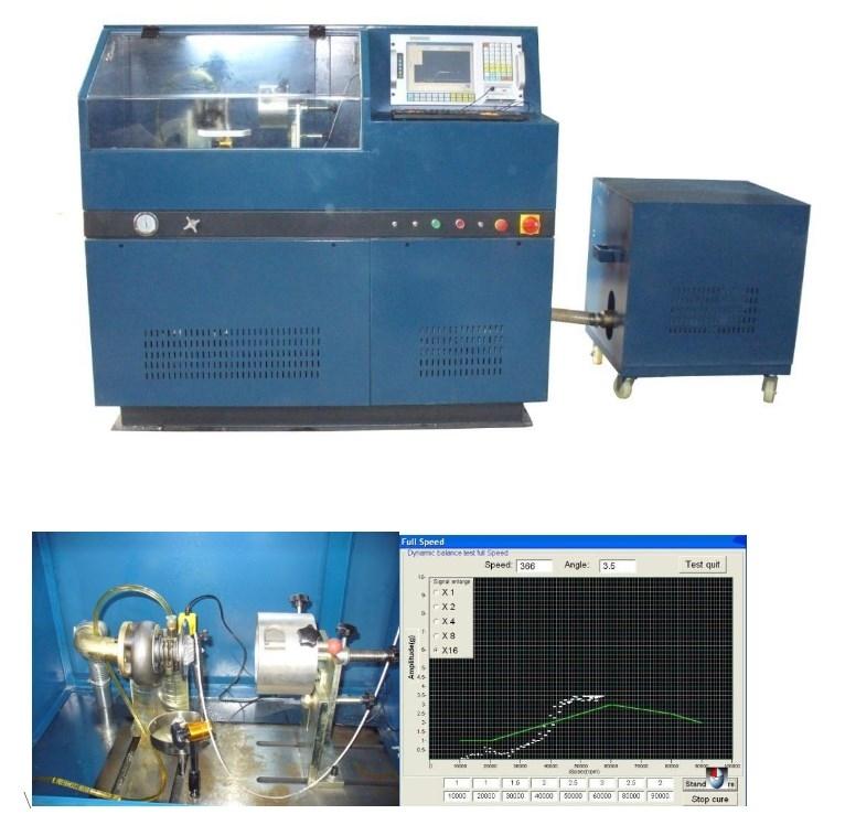 Стенд для балансировки турбокомпрессоров Nantai NT-D3 (114-115) - 1
