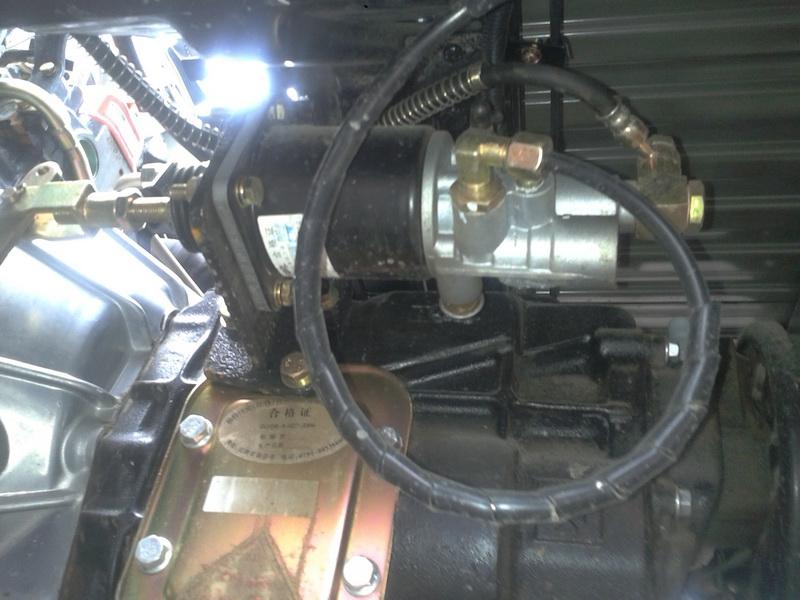 Двигатель дизельный ФОТОН BJ493ZLQ3 на базе ISUZU (106-104) - 1