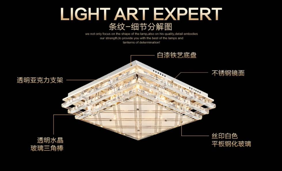 Люстры Plymouth Dili Lighting LED-PLD-3090 эксклюзивный продукт (101-230) - 12