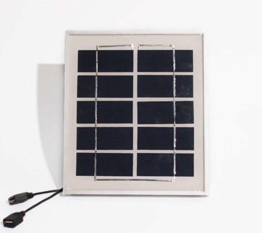 Фотоэлектрическая солнечная панель для зарядки телефонов 4W5V6V (120-107) - 2