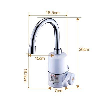 Электрический нагревательный кран для кухни - 3