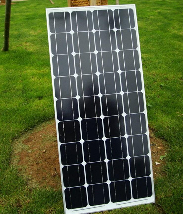 Монокристаллическая солнечная панель 100W (120-100) - 3