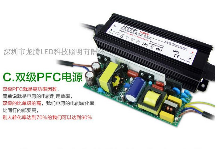 Промышленный светодиодный светильник LED 28W-196W (115-100) - 15