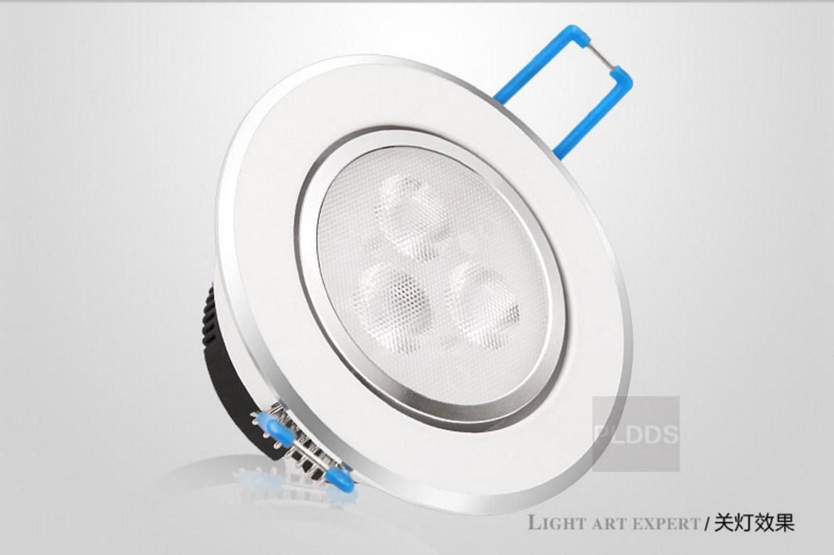 Светодиодный потолочный врезной светильник Plymouth Dili Lighting LED-PLDDS-5068-3W (101-244) - 3