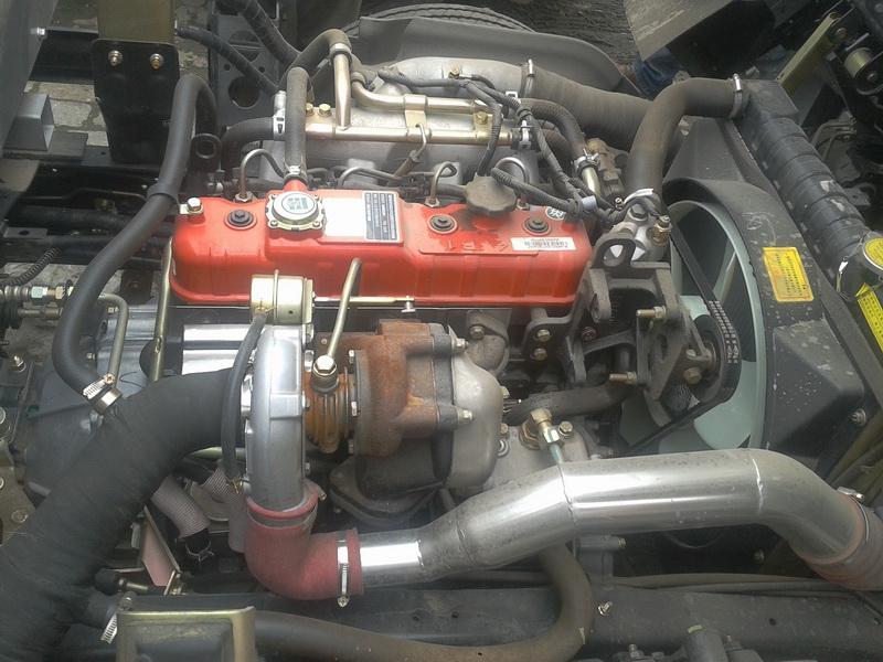 Двигатель дизельный ФОТОН BJ493ZQ3 на базе ISUZU (106-103) - 2
