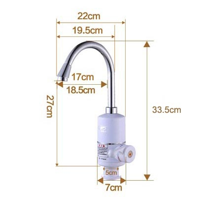 Электрический нагревательный кран для кухни - 4