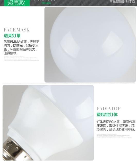 Светодиодные лампы LED-E14-E27-5730-2835 (101-201-4) - 2