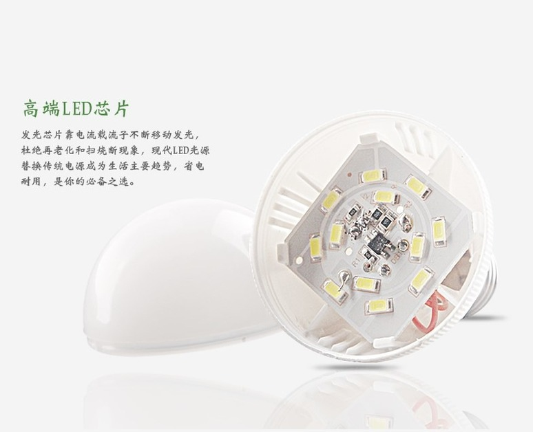 Светодиодные лампы LED-E14-E27 (101-205) - 6