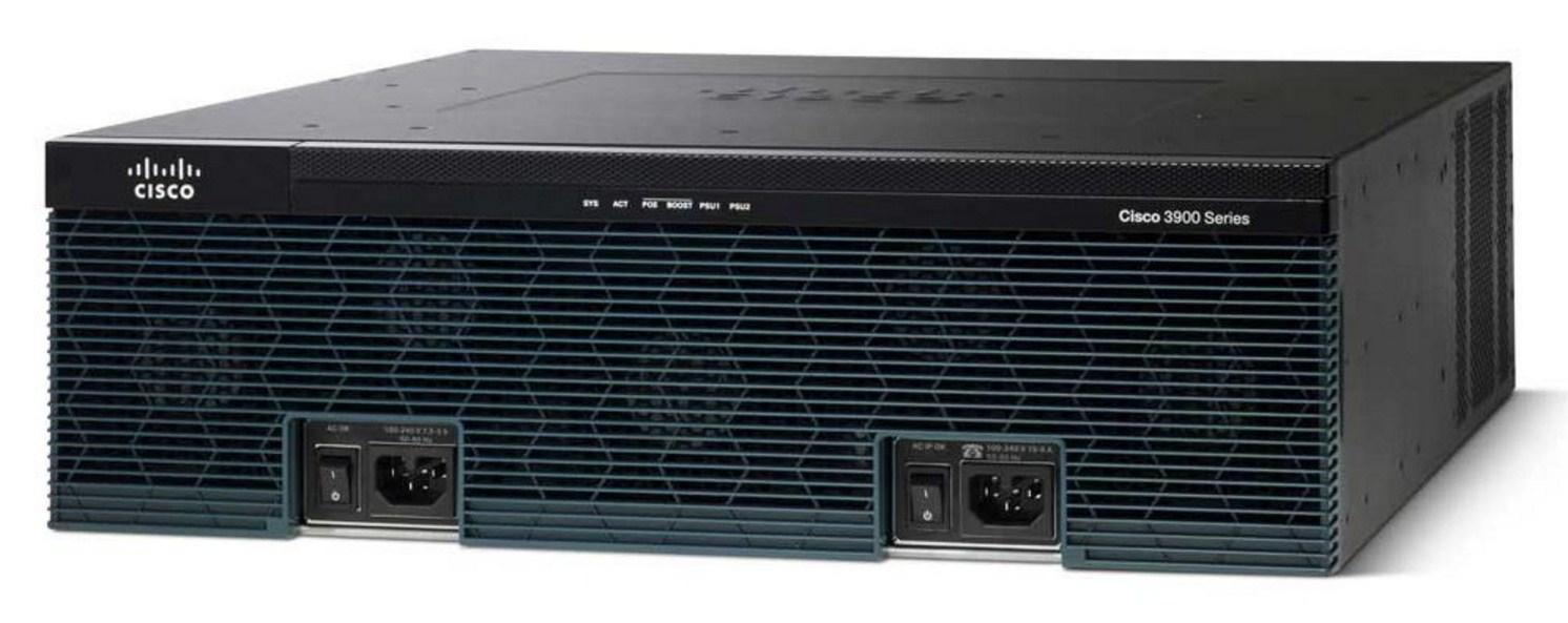 Маршрутизатор Cisco 3925-SEC/K9 (134-215) - 2