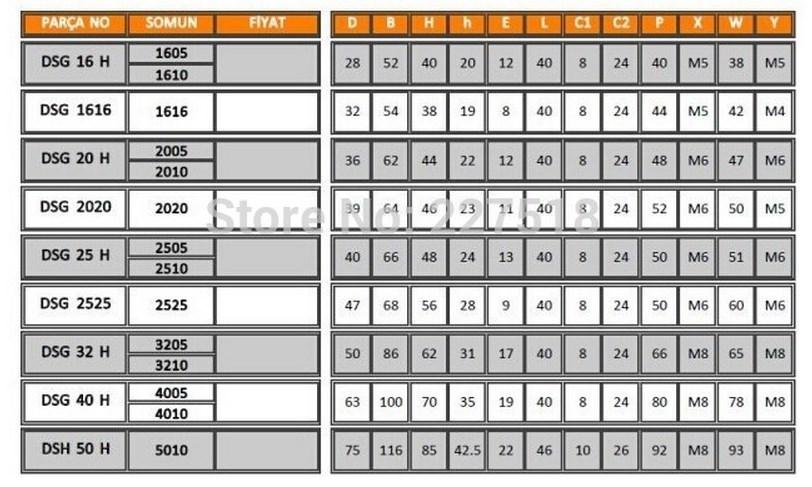 Комплектующие для ЧПУ станка SFU1605 (110-100) - 12