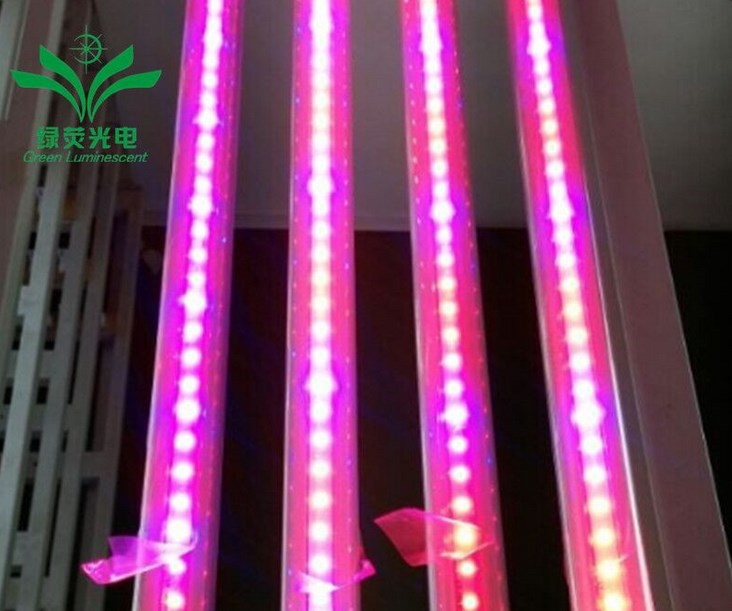 Светодиодная лампа для роста растений LED Lvyingguangdian T8-9W-23W (112-116) - 1