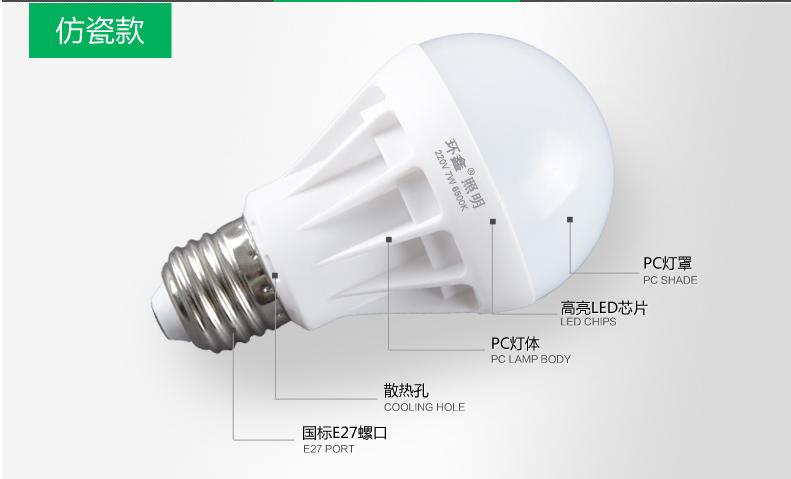 Светодиодные лампы LED-B22-E14-E27-5730 (101-201-2) - 6