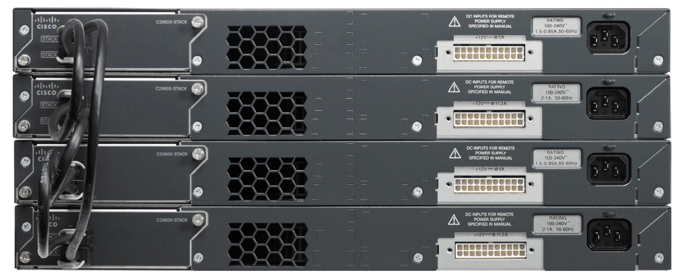 Коммутатор Cisco Catalyst WS-C2960X-24TD-L (134-205) - 4