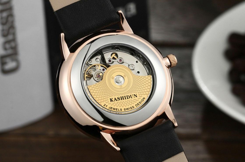 Водонепроницаемые механические часы KASHIDUN K-MZBK0001 (123-106) - 8