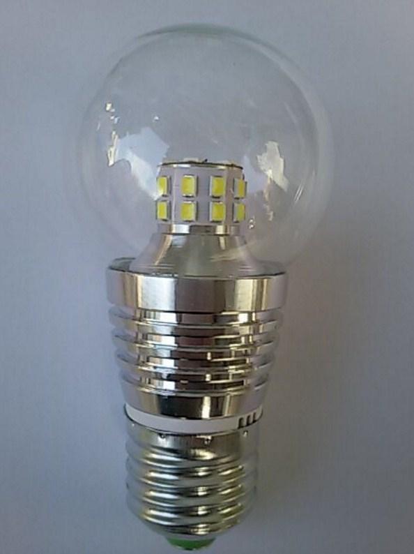 Лампа пожаробезопасная с металлическим корпусом LED-E27-5W (101-215) - 2