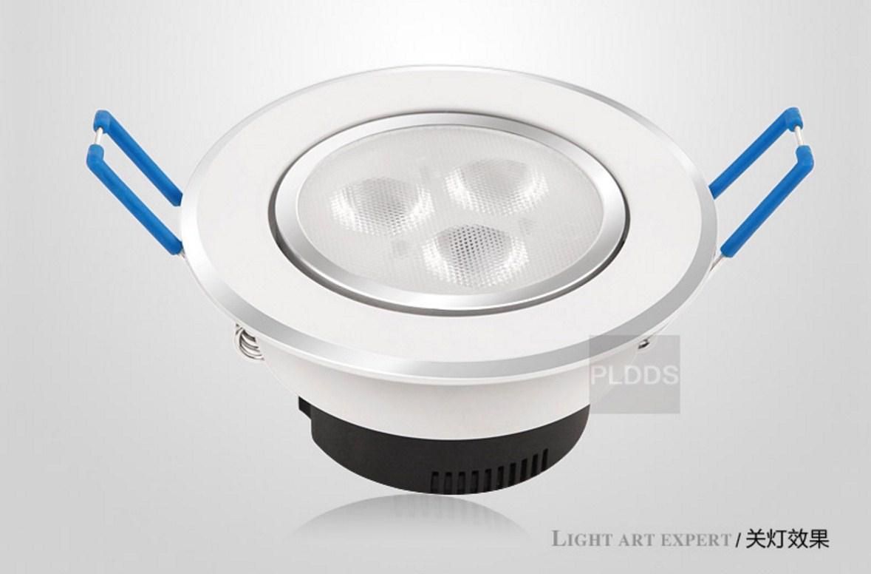Светодиодный потолочный врезной светильник Plymouth Dili Lighting LED-PLDDS-5068-3W (101-244) - 2