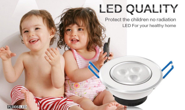 Светодиодный потолочный врезной светильник Plymouth Dili Lighting LED-PLDDS-5068-3W (101-244) - 1