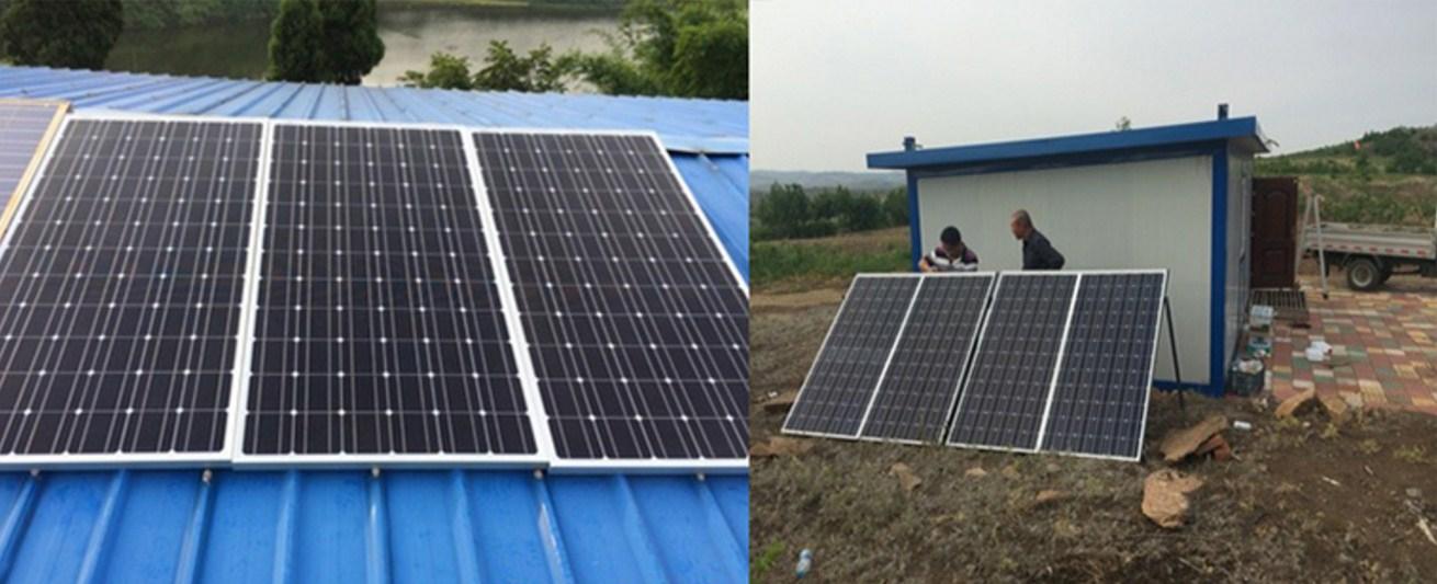 Монокристаллическая кремниевая солнечная панель 200W (120-101) - 4