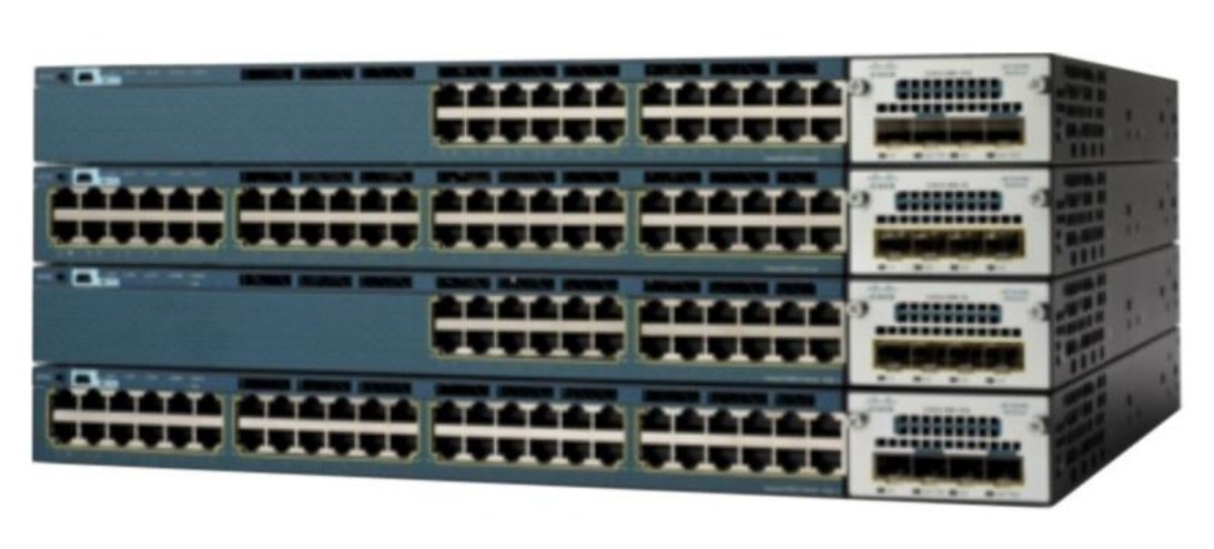 Коммутатор Cisco Catalyst WS-C3560X-24P-L (134-204) - 2