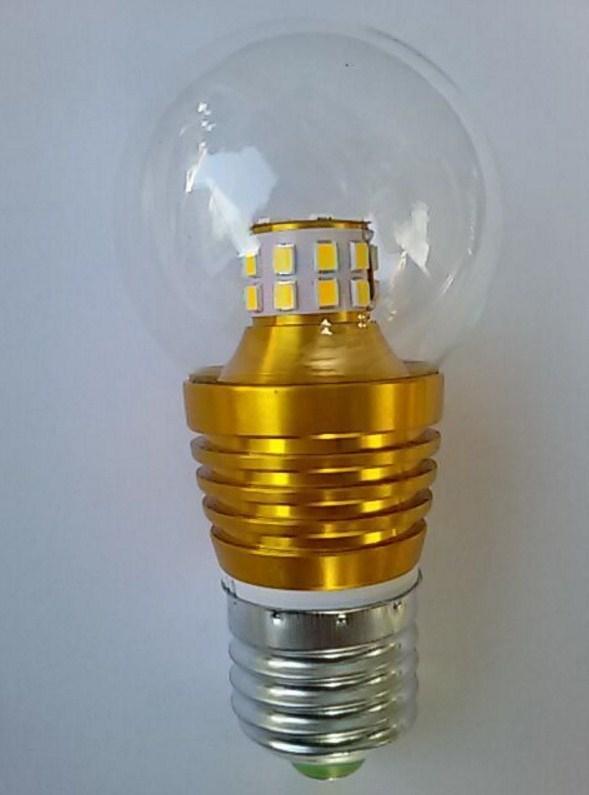 Лампа пожаробезопасная с металлическим корпусом LED-E27-5W (101-215) - 1
