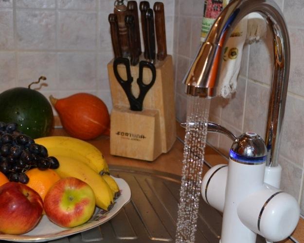 Проточный смеситель для кухни - 3