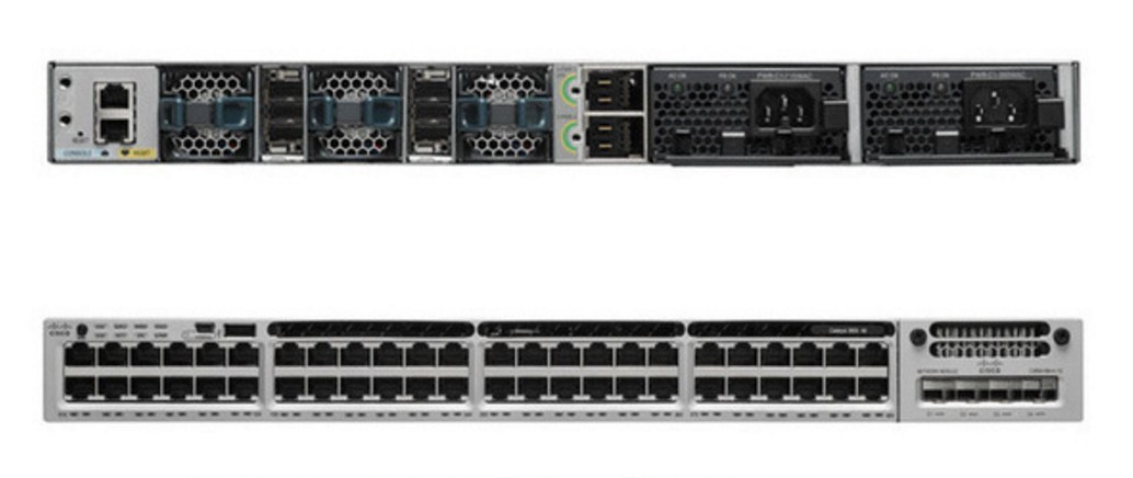 Коммутатор Cisco Catalyst C3850-48T-E (134-200) - 4