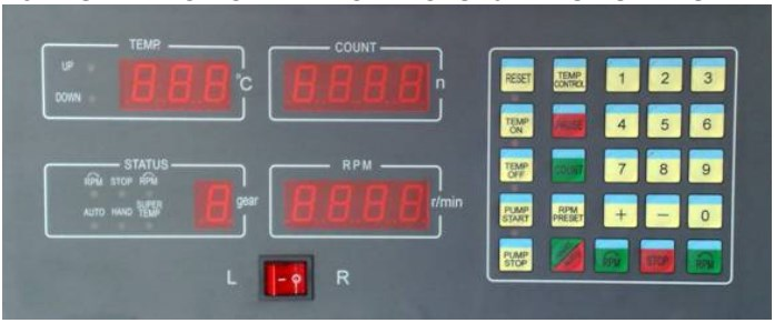 DESCRIPTION OF THE CONTROLS for 12PSB SERIES