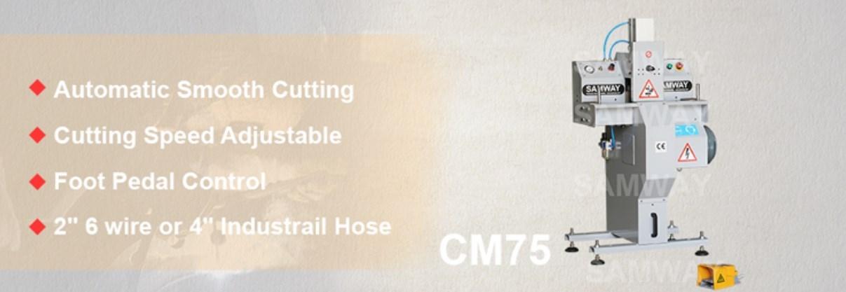 Отрезной станок для РВД SAMWAY CM75 (108-206) - 2