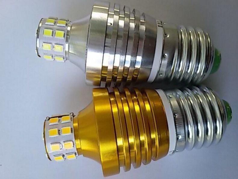 Лампа пожаробезопасная с металлическим корпусом LED-E27-5W (101-215) - 5