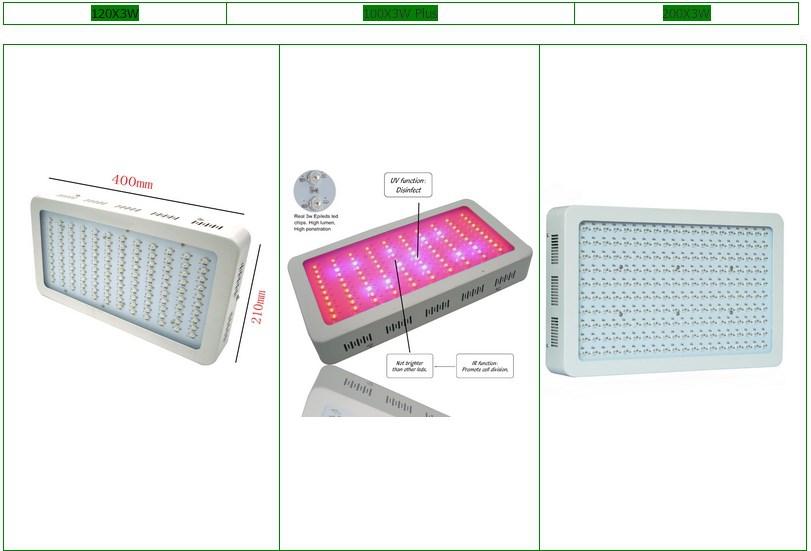 Светодиодная лампа для теплиц LED Grow Light YRS-GL-100X3W-W (112-104) - 5