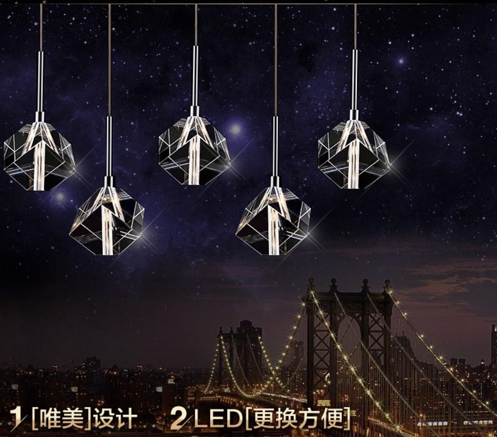 Потолочный светильник Plymouth Dili Lighting Crystal LED-5780-5 (101-239) - 1
