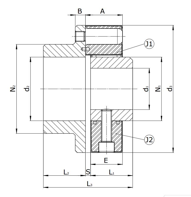 Муфты CENTAFLEX-A TYPE 2 /2–S (118-106) - 3