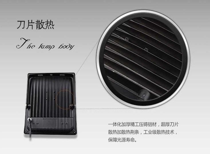 Промышленный светодиодный прожектор LED 30W-400W (115-101) - 14