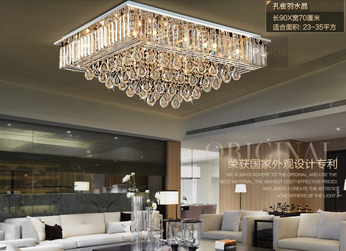 Люстра Plymouth Dili Lighting - Crystal Peacock feather LED-9083 (101-229) - 13