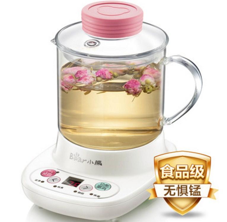Многофункциональный электрический стеклянный чайник Bear YSH-A03U1 (119-109) - 2