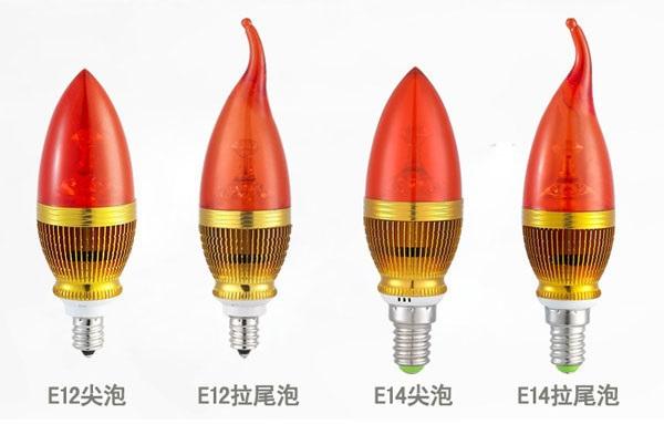 Энергосберегающие светодиодные лампы E12 / E14 / E27  - 2