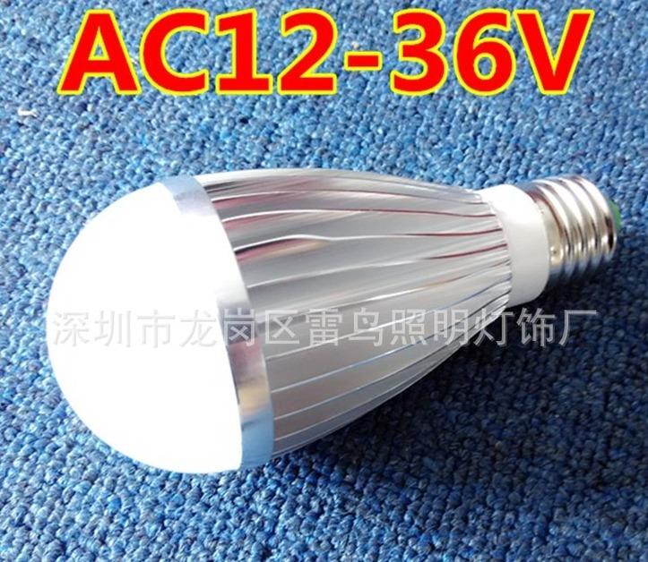 Светодиодная низковольтная лампа LED-LY-TR-E27-5730 (101-211) - 1