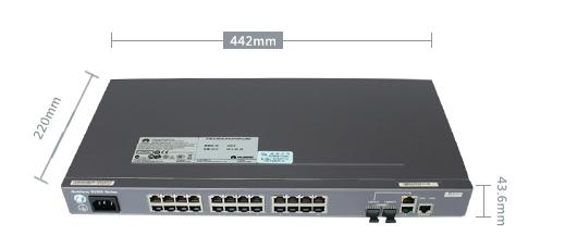 Коммутатор Huawei S2326TP-EI-AC (134-118) - 8