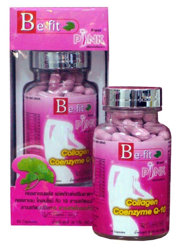 Омолаживающий комплекс Be-Fit PINK Collagen Coenzyme Q-10, 60 капсул (122-004) - 3