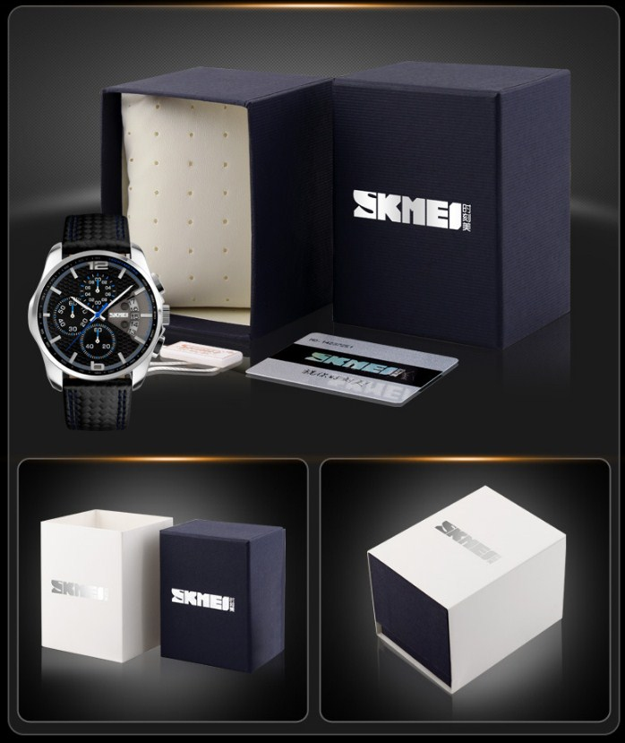Водонепроницаемые кварцевые спортивные часы SKMEI (123-102) - 12