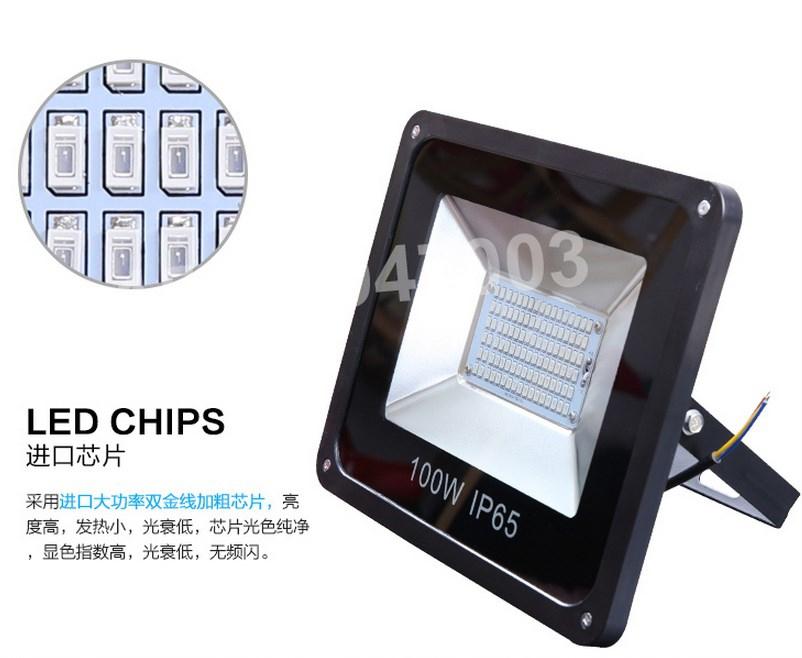 Промышленный светодиодный прожектор LED 30W-400W (115-101) - 10