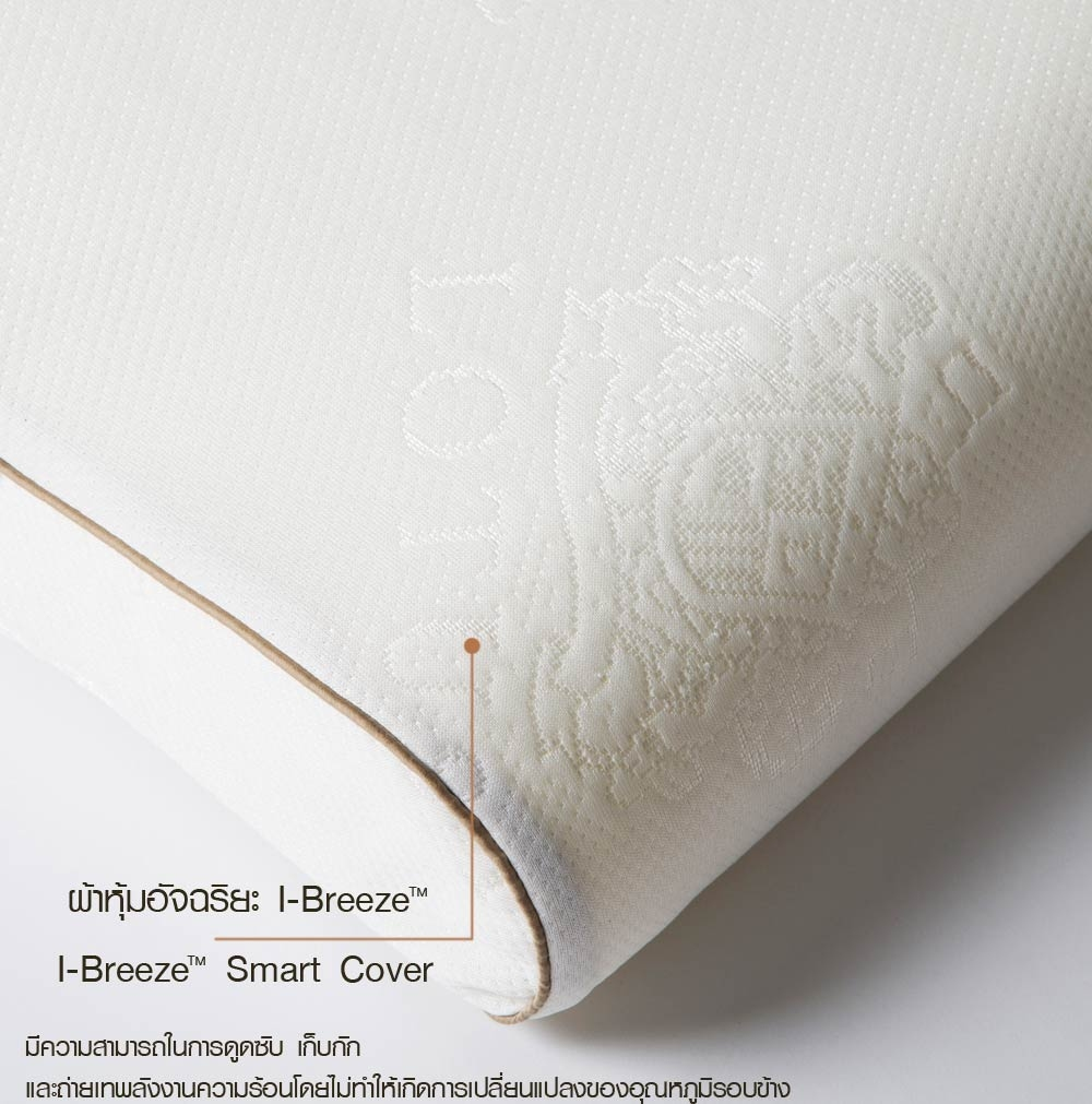 Подушки из натурального латекса Lotus Neck Massage Latex Pillow 20″x30″ (122-100) - 3