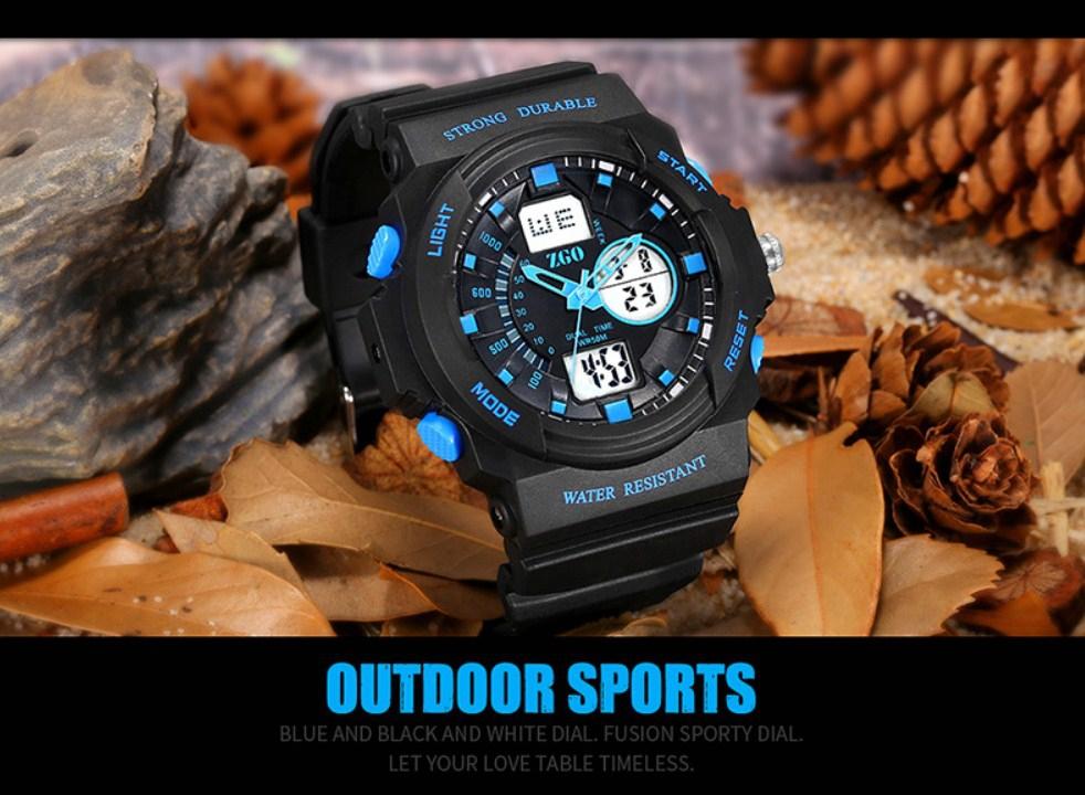 Водонепроницаемые электронные спортивные часы ZGO WATCH A316Z-X (123-108) - 13
