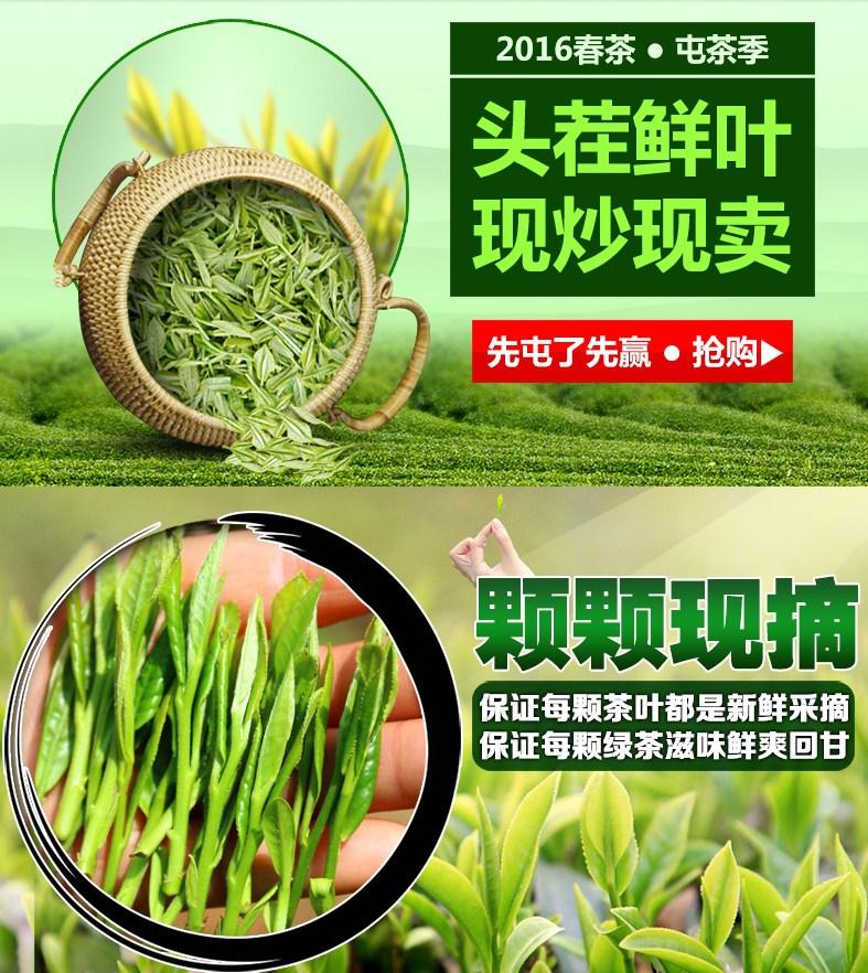 Новый зеленый чай 2016 Qing Cheng Tang (121-102) - 3